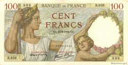 100 Francs SULLY FRANCE  1939 F.26.06 SPL