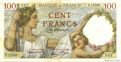 100 Francs SULLY FRANCE  1940 F.26.33 TTB à SUP