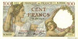 100 Francs SULLY FRANCE  1942 F.26.68 pr.SPL