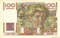 100 Francs JEUNE PAYSAN FRANCE  1948 F.28.19 pr.SUP