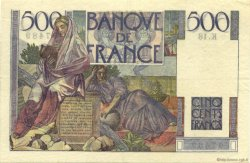 500 Francs CHATEAUBRIAND FRANCE  1945 F.34.01 TTB+