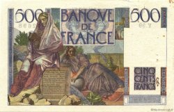500 Francs CHATEAUBRIAND FRANCE  1945 F.34.03 TTB+