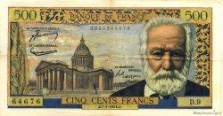 500 Francs VICTOR HUGO FRANCE  1954 F.35.01 TTB+