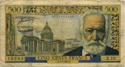 500 Francs VICTOR HUGO FRANCE  1954 F.35.02 B