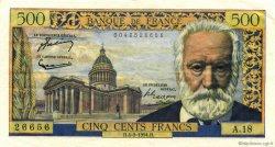 500 Francs VICTOR HUGO FRANCE  1954 F.35.02 pr.SUP