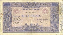1000 Francs BLEU ET ROSE FRANCE  1919 F.36.34 B