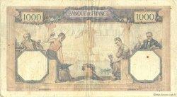 1000 Francs CÉRÈS ET MERCURE FRANCE  1927 F.37.01 pr.TB