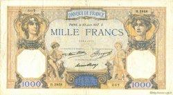 1000 Francs CÉRÈS ET MERCURE FRANCE  1937 F.37.10 TTB