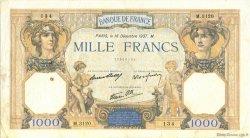 1000 Francs CÉRÈS ET MERCURE type modifié FRANCE  1937 F.38.07 pr.TTB