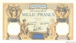 1000 Francs CÉRÈS ET MERCURE type modifié FRANCE  1940 F.38.49 SUP à SPL