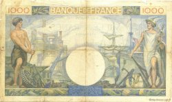 1000 Francs COMMERCE ET INDUSTRIE FRANCE  1940 F.39.02 TB