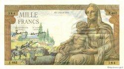 1000 Francs DÉESSE DÉMÉTER FRANCE  1942 F.40.02 SUP
