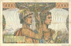 5000 Francs TERRE ET MER FRANCE  1953 F.48.08 TTB