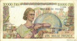 10000 Francs GÉNIE FRANÇAIS FRANCE  1951 F.50.54 TB