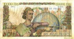 10000 Francs GÉNIE FRANÇAIS FRANCE  1953 F.50.63 TB