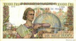 10000 Francs GÉNIE FRANÇAIS FRANCE  1953 F.50.67 TTB