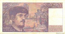 20 Francs DEBUSSY FRANCE  1989 F.66.10a TTB