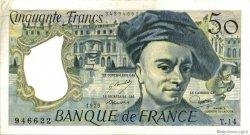 50 Francs QUENTIN DE LA TOUR FRANCE  1979 F.67.04 SUP