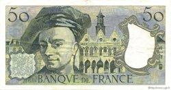 50 Francs QUENTIN DE LA TOUR FRANCE  1979 F.67.05 TTB+