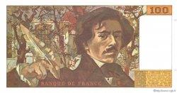 100 Francs DELACROIX imprimé en continu FRANCE  1991 F.69bis.03b2 pr.NEUF