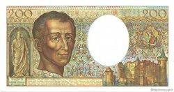 200 Francs MONTESQUIEU FRANCE  1986 F.70.06 SPL+