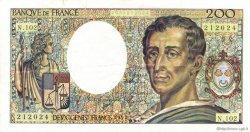 200 Francs MONTESQUIEU FRANCE  1992 F.70.12a TTB+