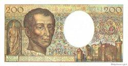 200 Francs MONTESQUIEU FRANCE  1992 F.70.12a SUP