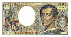 200 Francs MONTESQUIEU FRANCE  1992 F.70.12a SUP