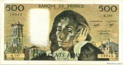 500 Francs PASCAL FRANCE  1982 F.71.26 TB+