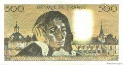 500 Francs PASCAL FRANCE  1987 F.71.36 TTB+