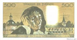 500 Francs PASCAL FRANCE  1989 F.71.42 SUP+