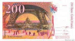 200 Francs EIFFEL FRANCE  1996 F.75.02 SUP