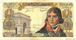 10000 Francs BONAPARTE FRANCE  1955 F.51.01 TB+