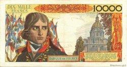 10000 Francs BONAPARTE FRANCE  1956 F.51.02 pr.TTB