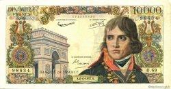 10000 Francs BONAPARTE FRANCE  1957 F.51.08 pr.TTB