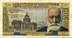 5 Nouveaux Francs VICTOR HUGO FRANCE  1959 F.56.01 TB