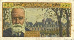 5 Nouveaux Francs VICTOR HUGO FRANCE  1961 F.56.07 pr.TTB