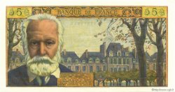 5 Nouveaux Francs VICTOR HUGO FRANCE  1961 F.56.08 SPL