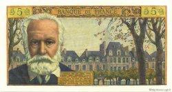 5 Nouveaux Francs VICTOR HUGO FRANCE  1961 F.56.09 SPL