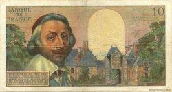 10 Nouveaux Francs RICHELIEU FRANCE  1961 F.57.15 TB