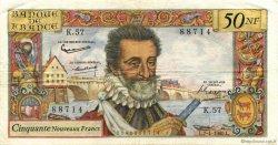 50 Nouveaux Francs HENRI IV FRANCE  1960 F.58.05 TTB+