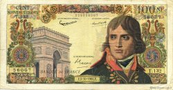 100 Nouveaux Francs BONAPARTE FRANCE  1961 F.59.12 pr.TB