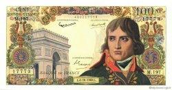 100 Nouveaux Francs BONAPARTE FRANCE  1962 F.59.17 SPL