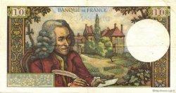 10 Francs VOLTAIRE FRANCE  1965 F.62.12 TTB