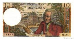 10 Francs VOLTAIRE FRANCE  1967 F.62.30 SPL+