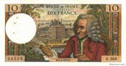 10 Francs VOLTAIRE FRANCE  1970 F.62.43 TTB+