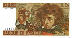 10 Francs BERLIOZ FRANCE  1974 F.63.07a SUP+
