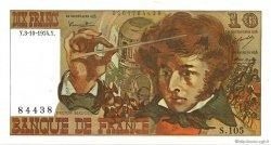 10 Francs BERLIOZ FRANCE  1974 F.63.07a SUP+