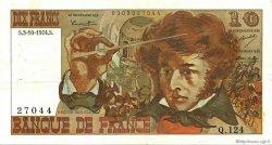 10 Francs BERLIOZ FRANCE  1974 F.63.07b TTB+