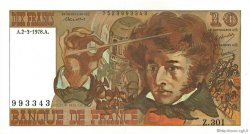 10 Francs BERLIOZ FRANCE  1978 F.63.23 SPL